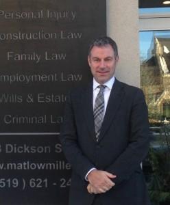 A photo of lawyer Bernard Cummins